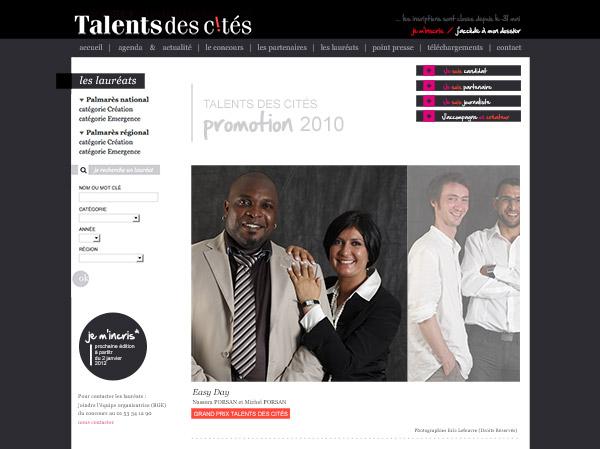 gransard-cie-page-Talents-des-Cites-laureats-ed-2010