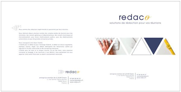 plaquette Redaco