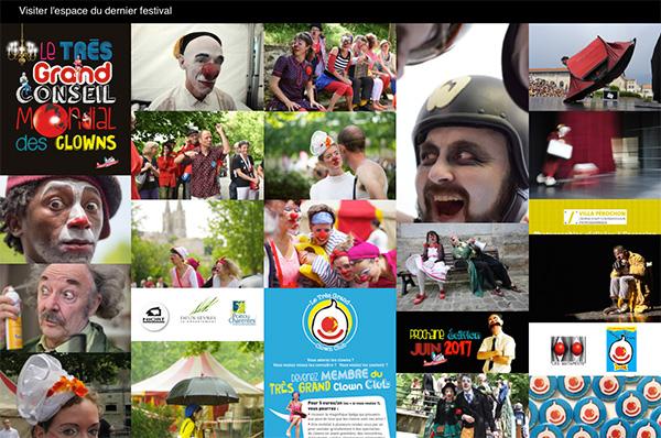 ecran Festival Le Très Grand Conseil Mondial des Clowns